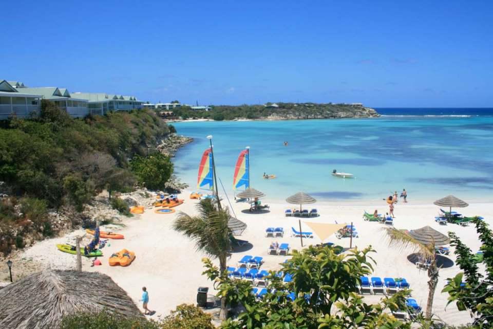 Praia de Antígua e Barbuda