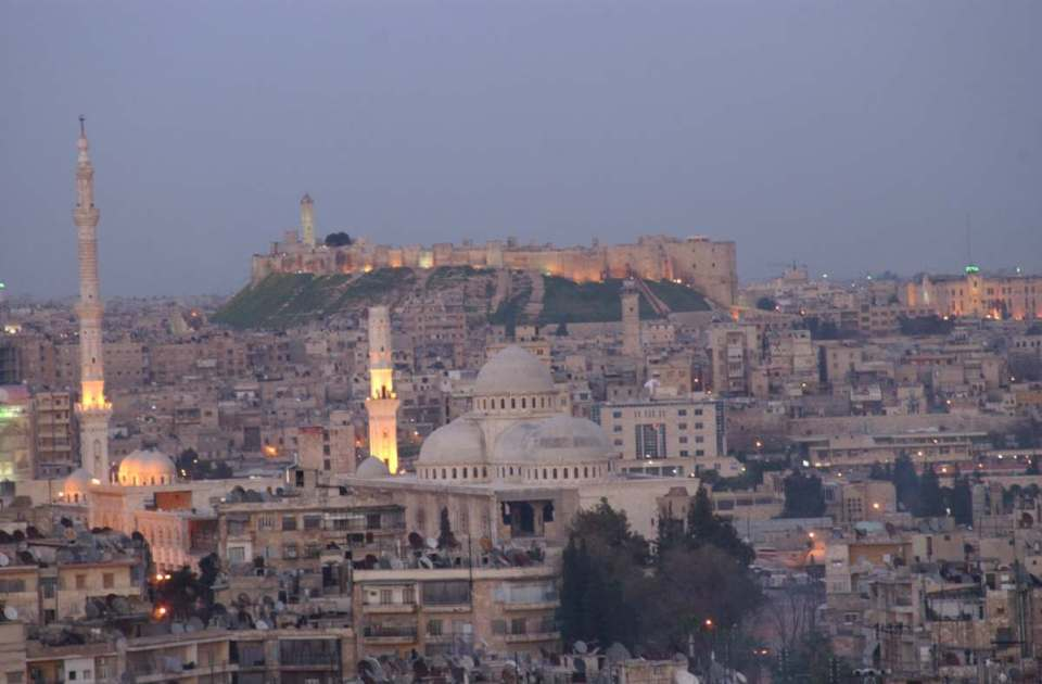 Aleppo (antes do conflito)