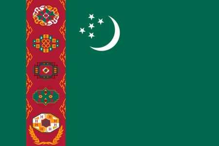 Bandeira do Turquemenistão