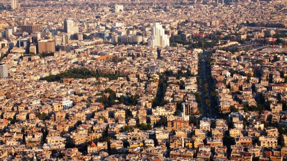 Damasco (antes do conflito)