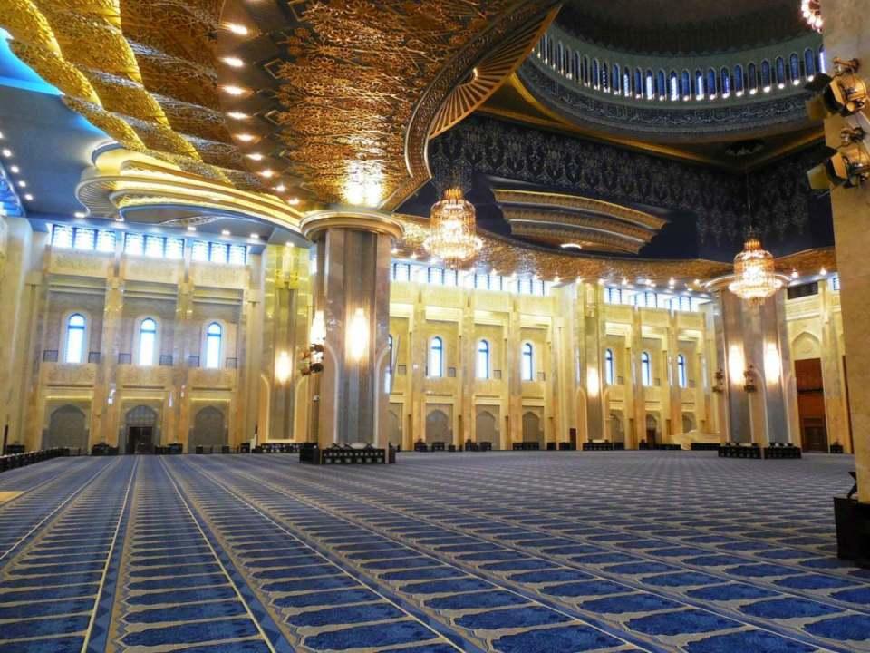 Interior da Grande Mesquita