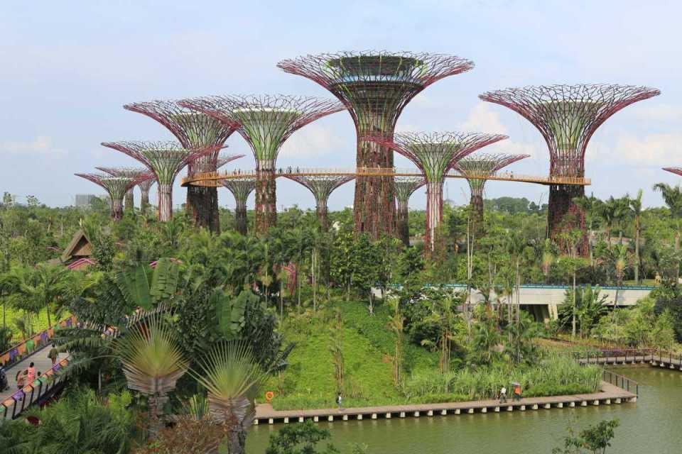 Jardins da Baía de Singapura