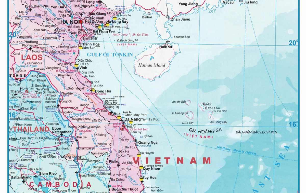 vietname mapa VIETNAME – Amantes de Viagens vietname mapa