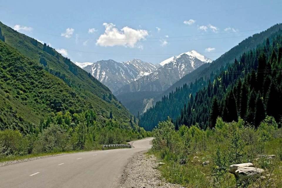 Montanhas do Cazaquistão