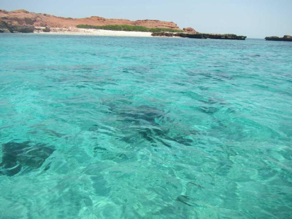 Praia em Omã