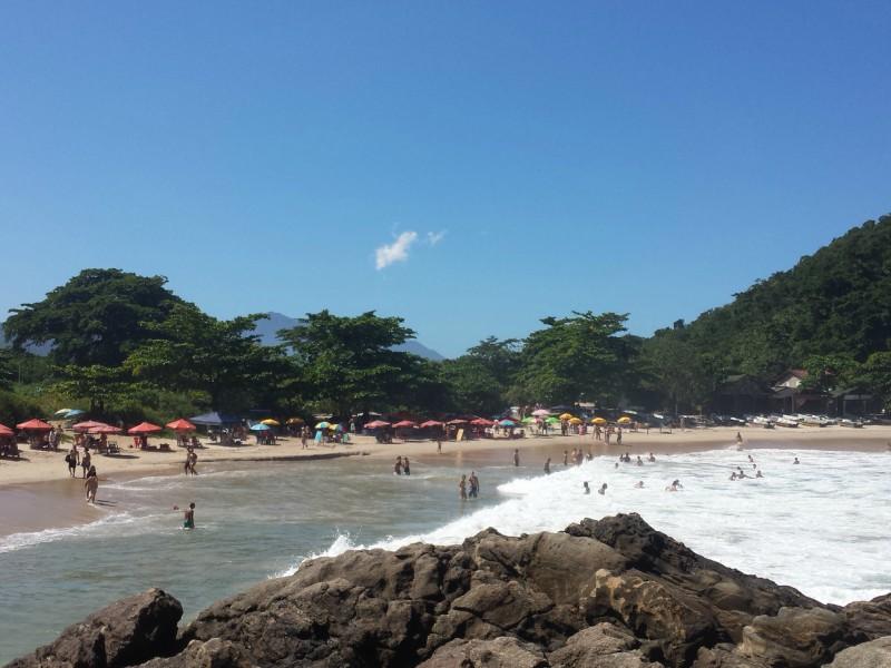 Praia em Trindade