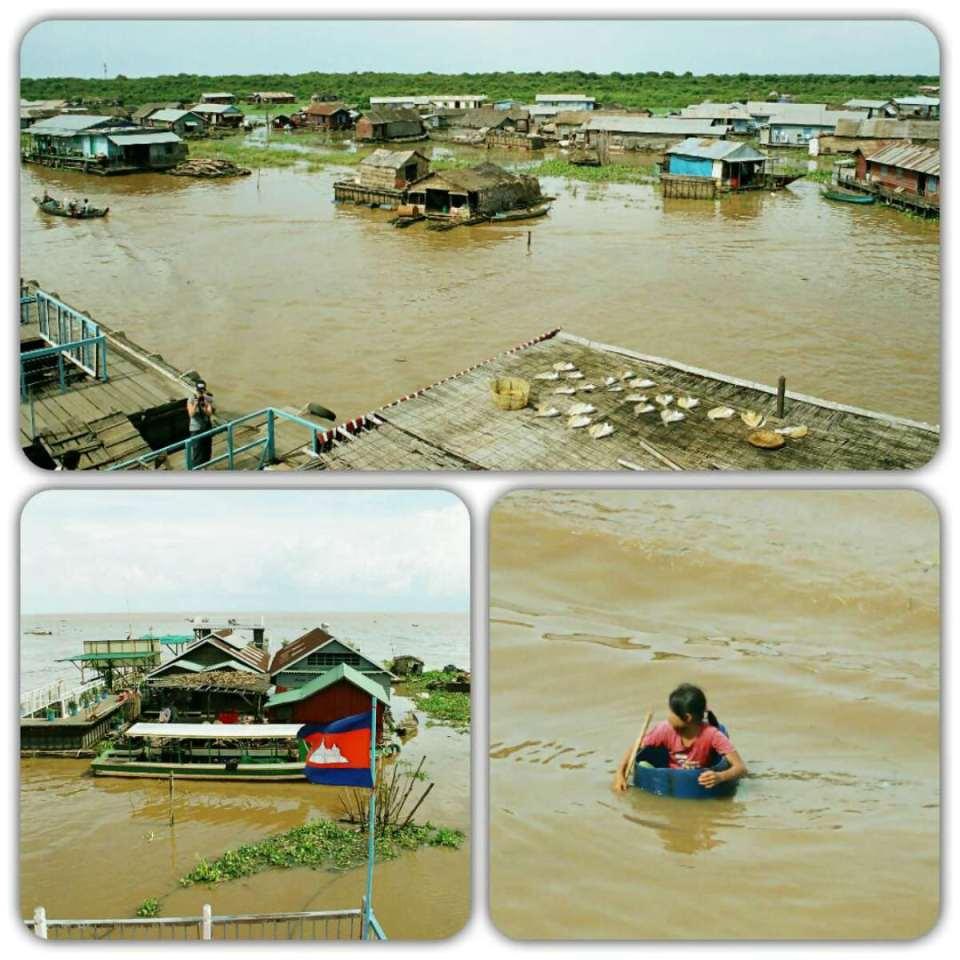 Camboja- Aldeia Flutuante