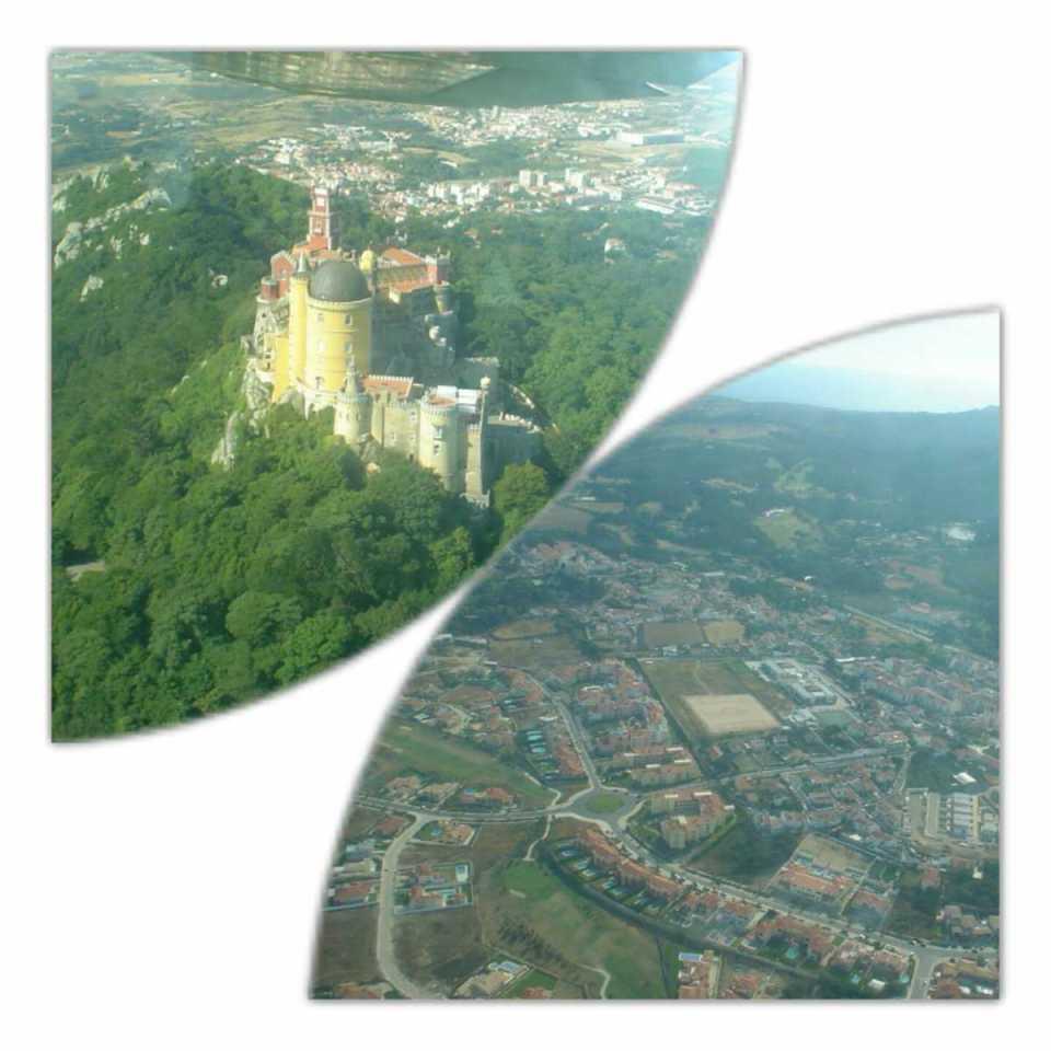 Portugal-Sintra (vista aérea)