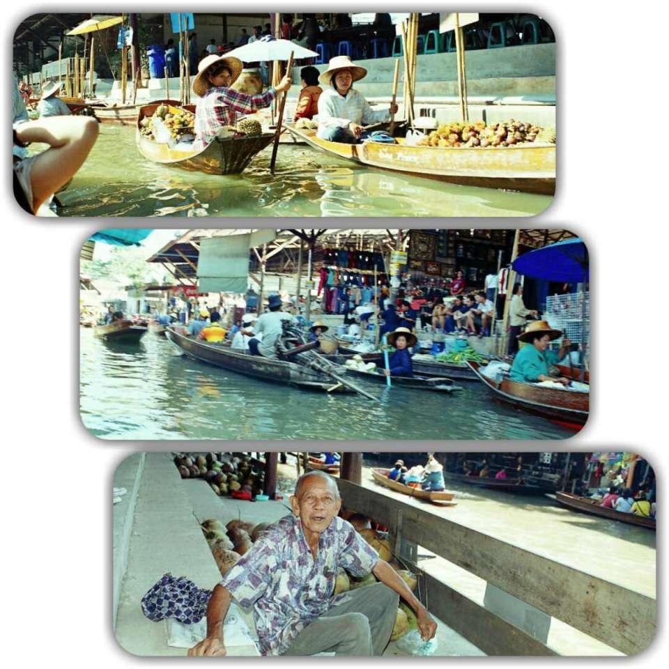Tailândia-Damnoen Saduak