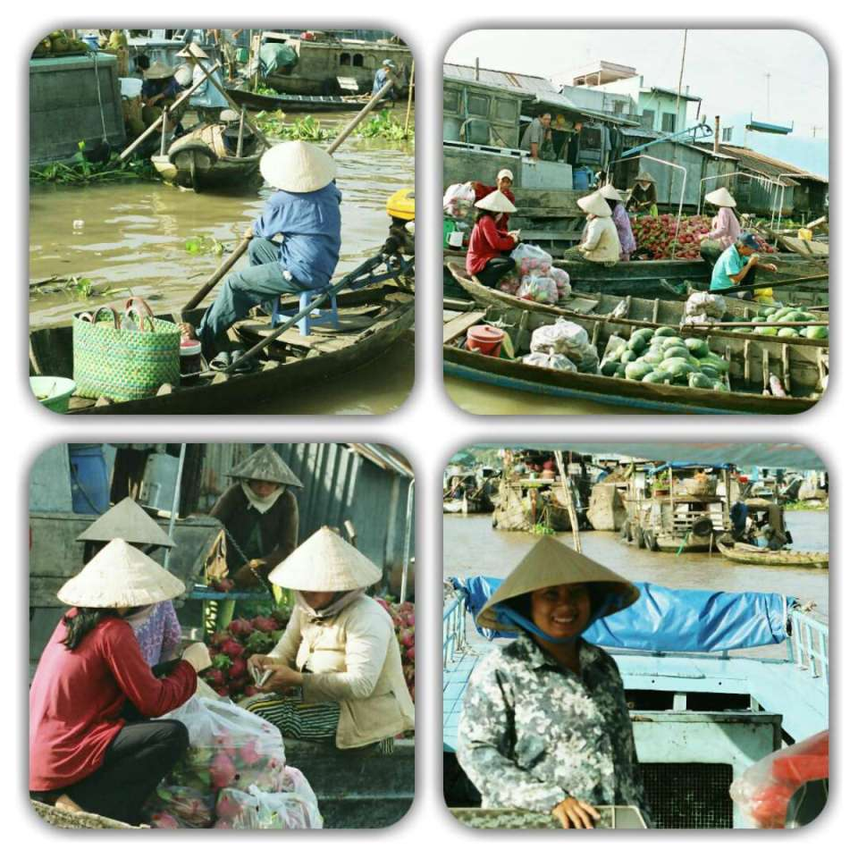 Mercado de Vinh Long - Vietname