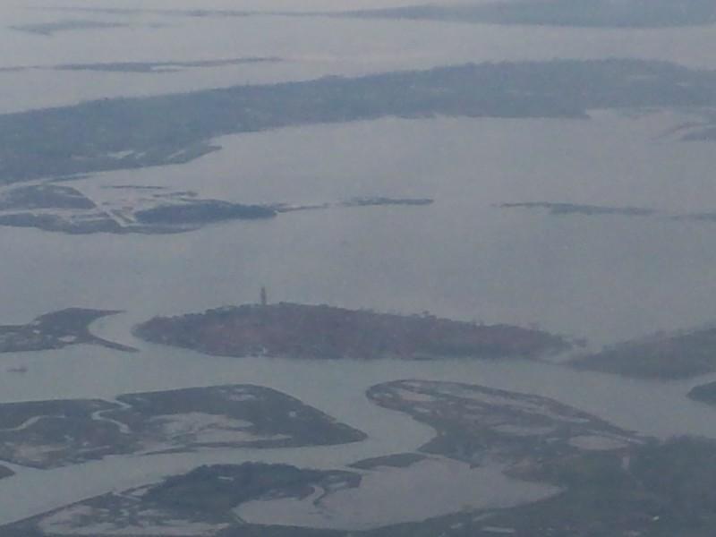 Vista aérea de Veneza