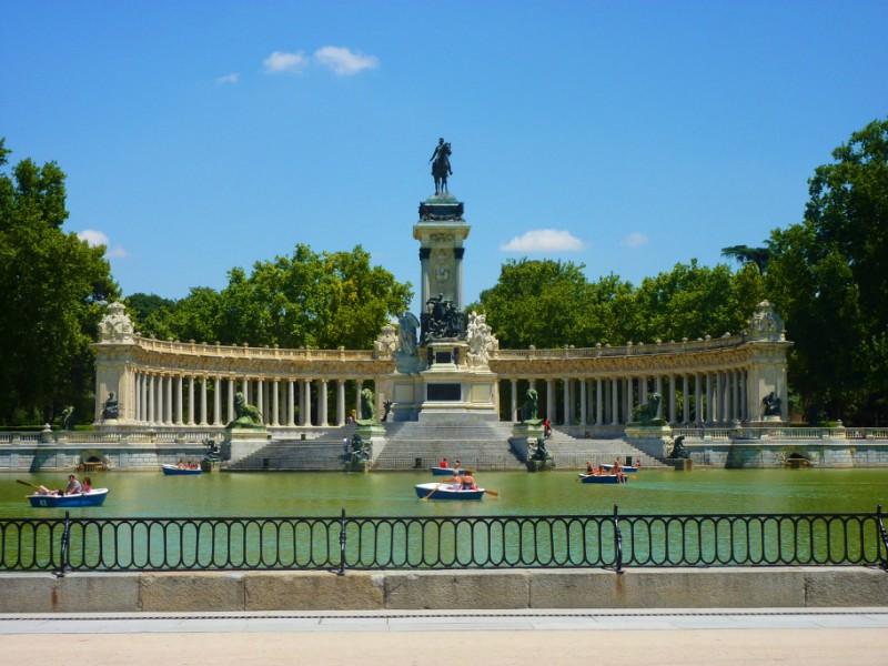 Parque do Retiro- Madrid