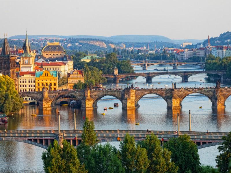 Pontes de Praga