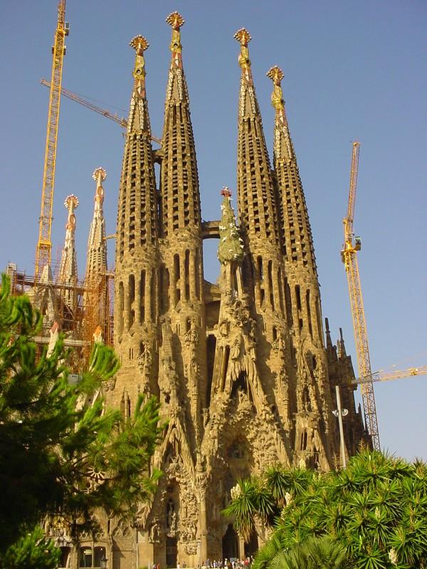 Sagrada Familia- Barcelona- Espanha