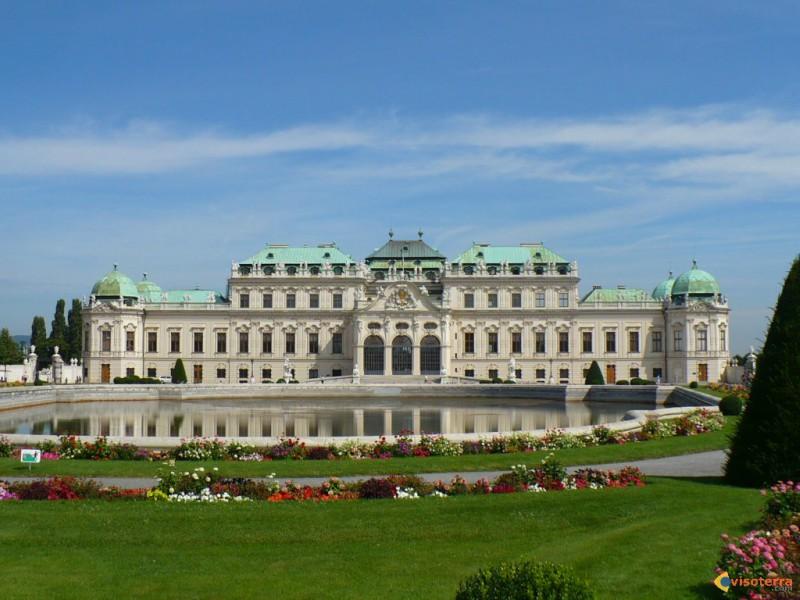 Palácio de Belvedere - Vienna - Austria