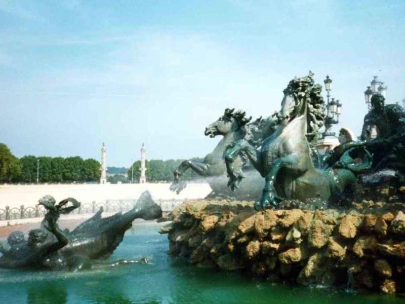 Bordéus- França- Bordeaux Quinconces@ Michel BUZE