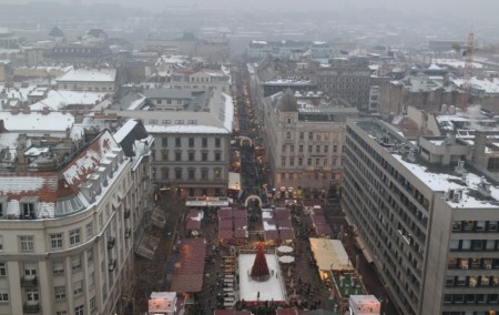 Mercados de Natal- Budapeste