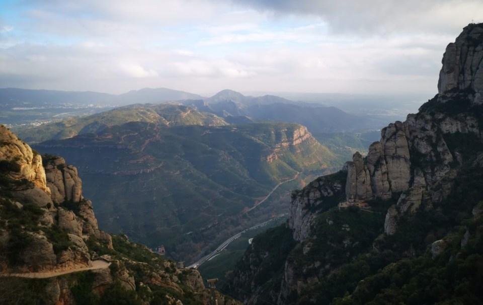 Parque Natural de Montserrat- Espanha