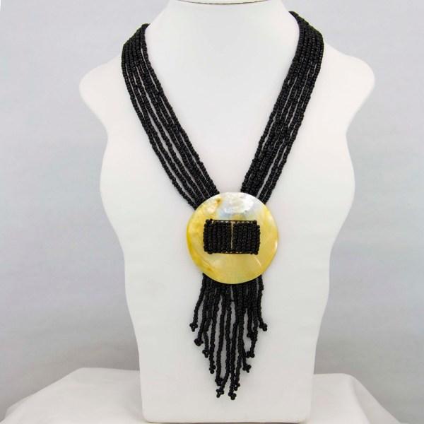Handmade-Mexican-Abalone-shell-shakira-beads-Necklace-008
