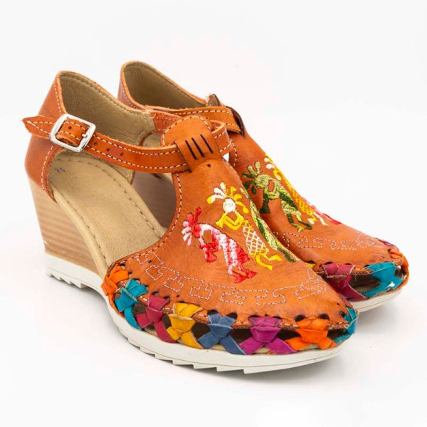 amantli-handmade-mexican-huarache-sandal-shoe-medium-sole-camelia-orange-pair-view-049
