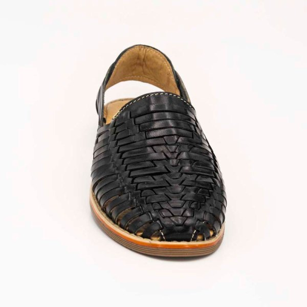 mexican huarache sandal shoe benito front view