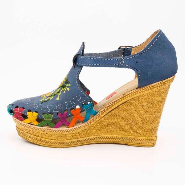 amantli-handmade-mexican-sandal-shoe-high-sole-camelia-blue-inner-view-009