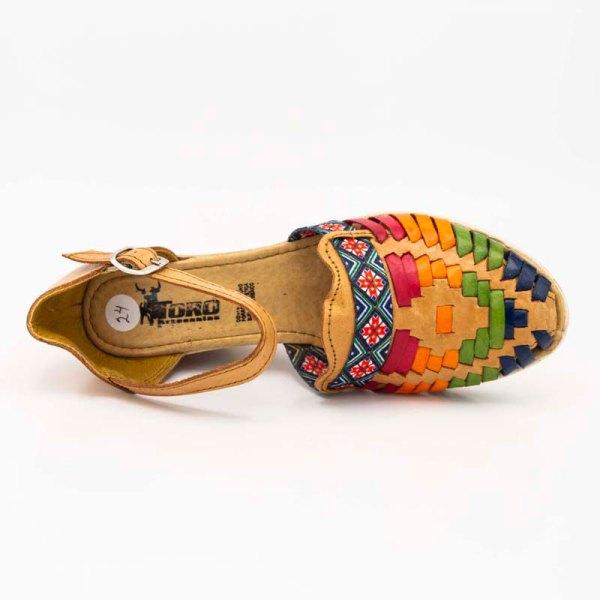 amantli-handmade-mexican-sandal-shoe-medium-sole-lupe-honey-upper-view-038