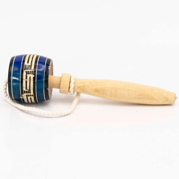 traditional-handmade-small-blue-mexican-wooden-classic-balero-standing-view-011