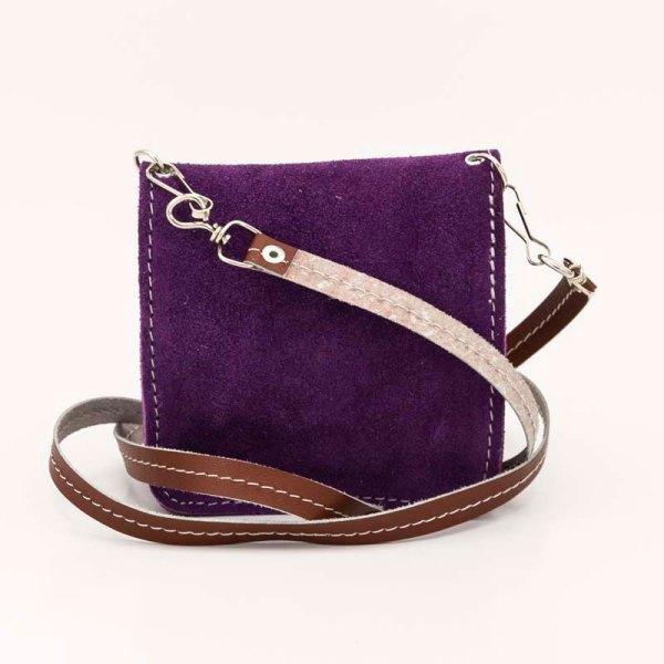 handmade-iris-girls-purple-suede-leather-mexican-handbag-front-view-114