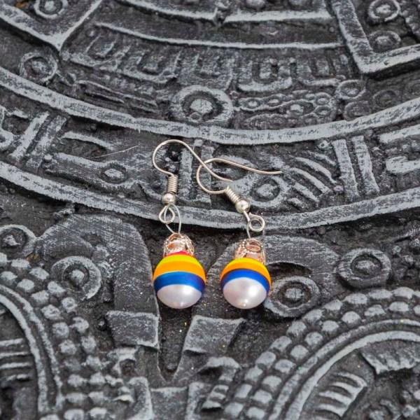 twirl-hand-blown-glass-pink-yellow-blue-earrings-088