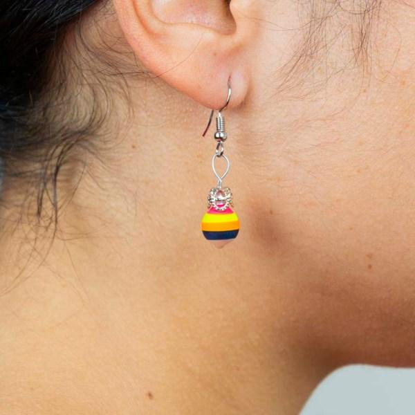 twirl-hand-blown-glass-pink-yellow-blue-earrings-092