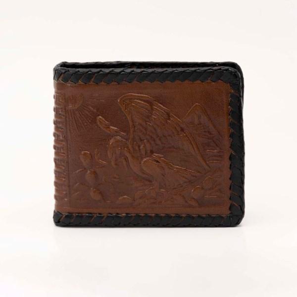 handmade-handtooled-mexican-laced-wallets-aztec-calendar-eagle-072