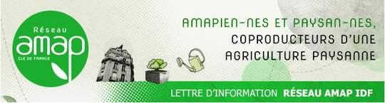 Lettre d'information du réseau AMAP IdF – Mars 2017