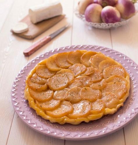 tarte tatin aux navets miel chevre1