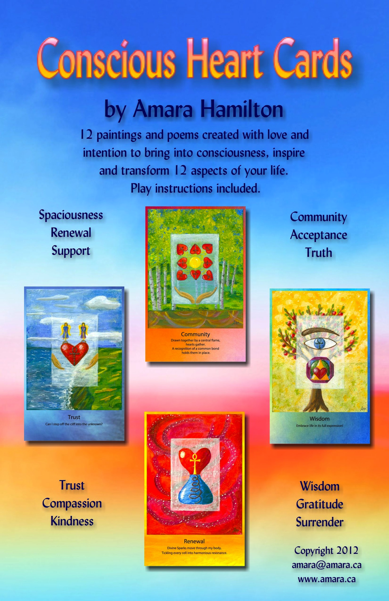 Conscious Heart Cards