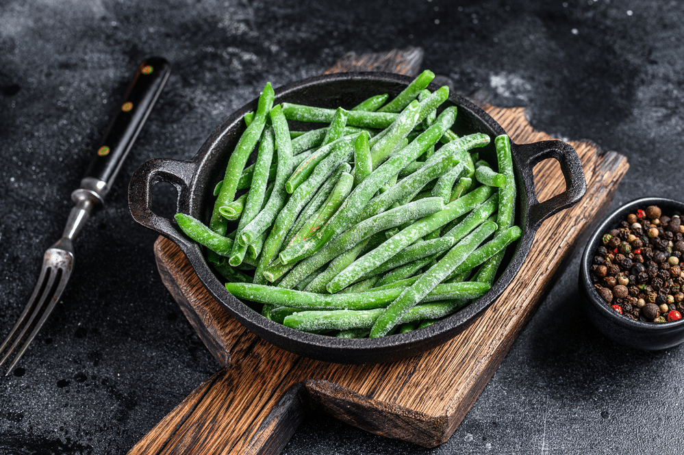 How to Freeze Green Beans From the Garden