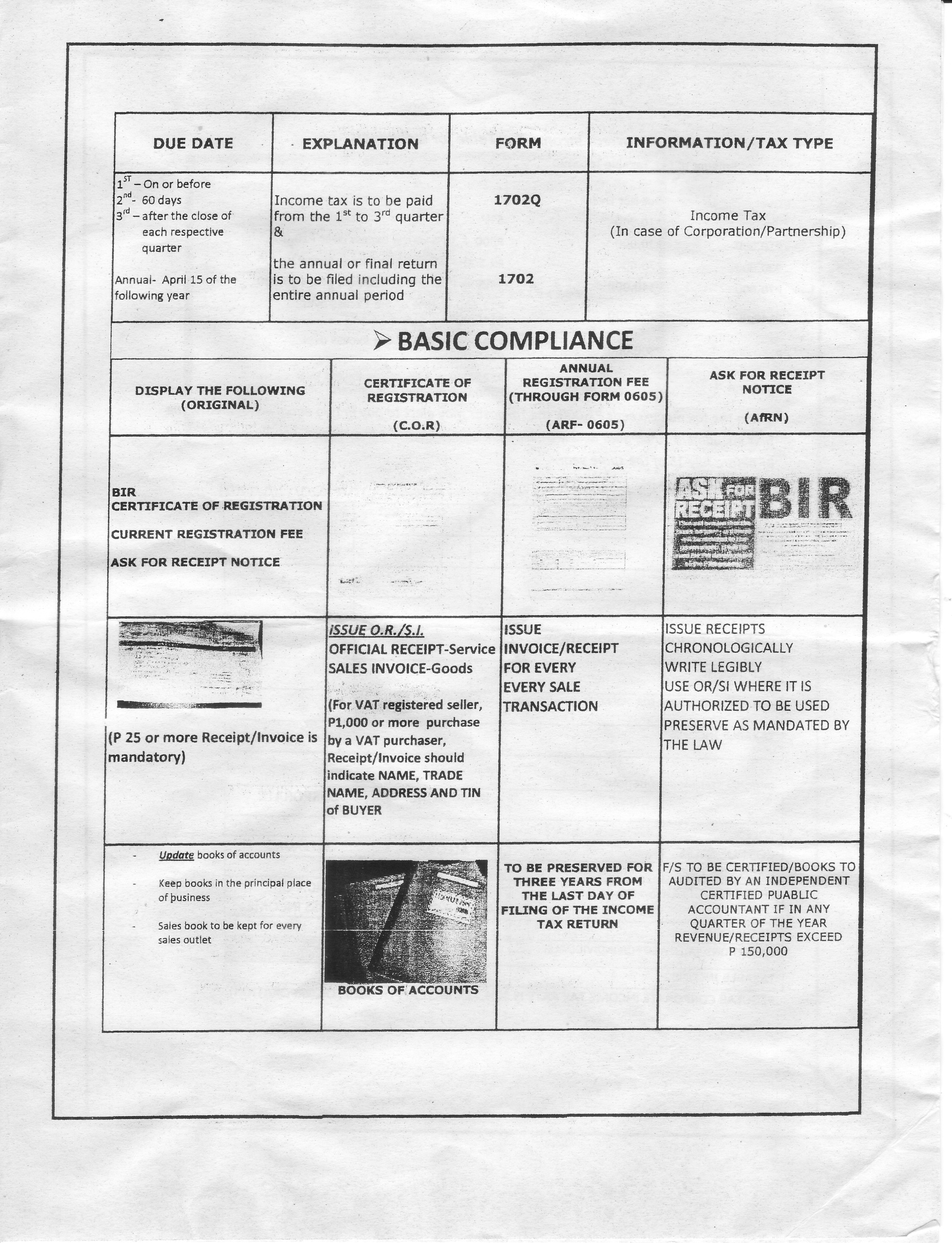 NEW FORM FOR CHANGE OF RDO