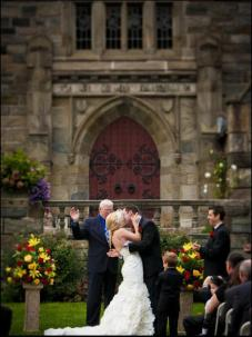 Merion Tribute House, Outdoor Wedding, Front