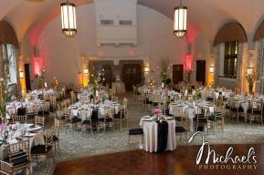 Merion Tribute House Decorated Wedding Reception
