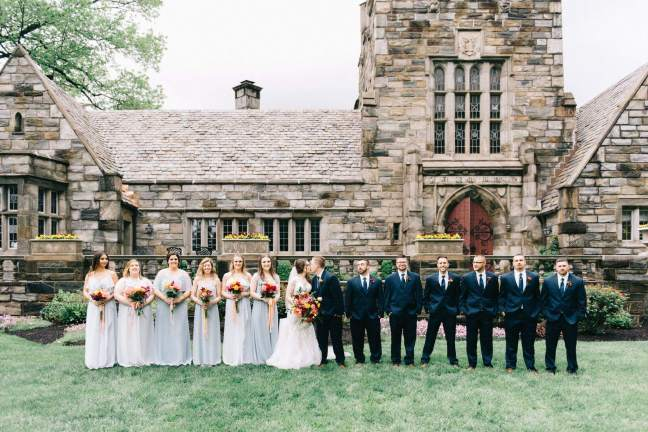 merion tribute house amranth florist wedding flowers
