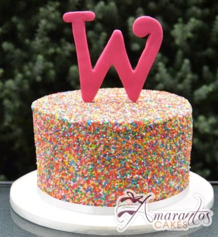 100's and 1000's Cake - Amarantos Cakes Melbourne