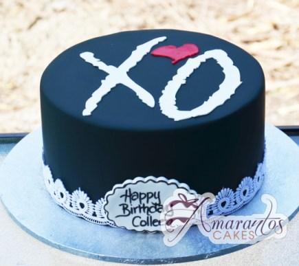 XO Cake - Amarantos Designer Cakes Melbourne