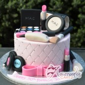 MAC Make up Cake 3D - Amarantos Melbourne Cakes