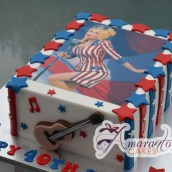 Dolly Parton Birthday Cake - Amarantos Cakes Melbourne
