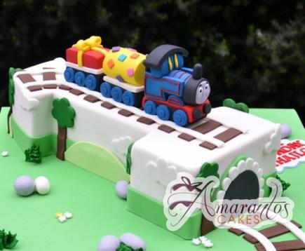 Number One Thomas Cake - Amarantos Designer Cakes Melbourne