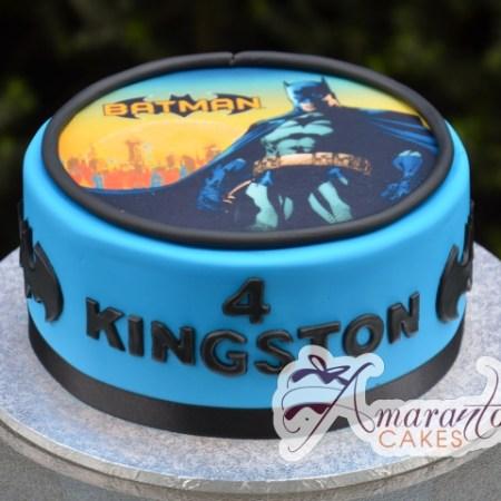 Batman Image Cake- AC367