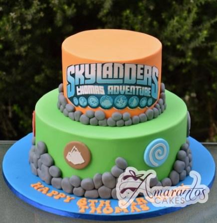 Skylander Cake - Amarantos Custom Made Cakes Melbourne