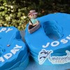 Number Fishing Themed Cake - Amarantos Designer Cakes Melbourne
