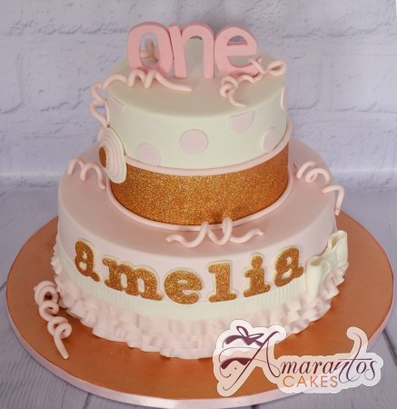 Two tier one cake – AC436