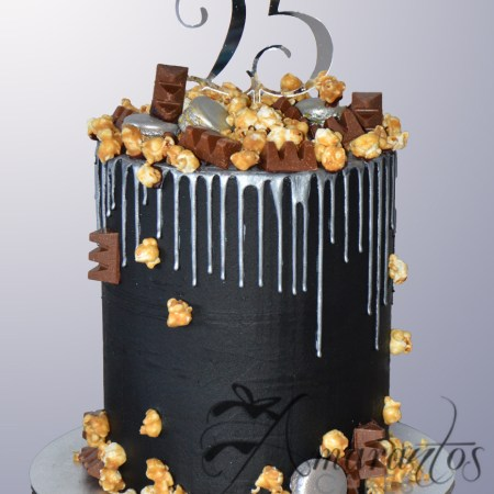 Three tier Barrel Drip cake – AC450